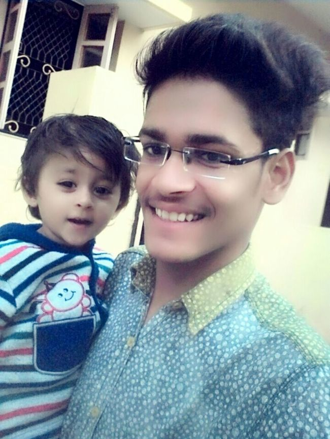My Cuteeee♥♡♥ Cousin & Abviously C😎😎l Dude✌👌 Me