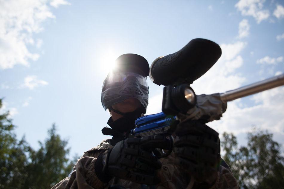 Beautiful stock photos of gun, Aiming, Day, Gun, Head And Shoulders