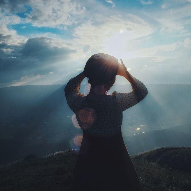 Sunlight Standing Landscape Mountain Scenics Beauty In Nature Non-urban Scene 阿蘇 Eyem Best Shots