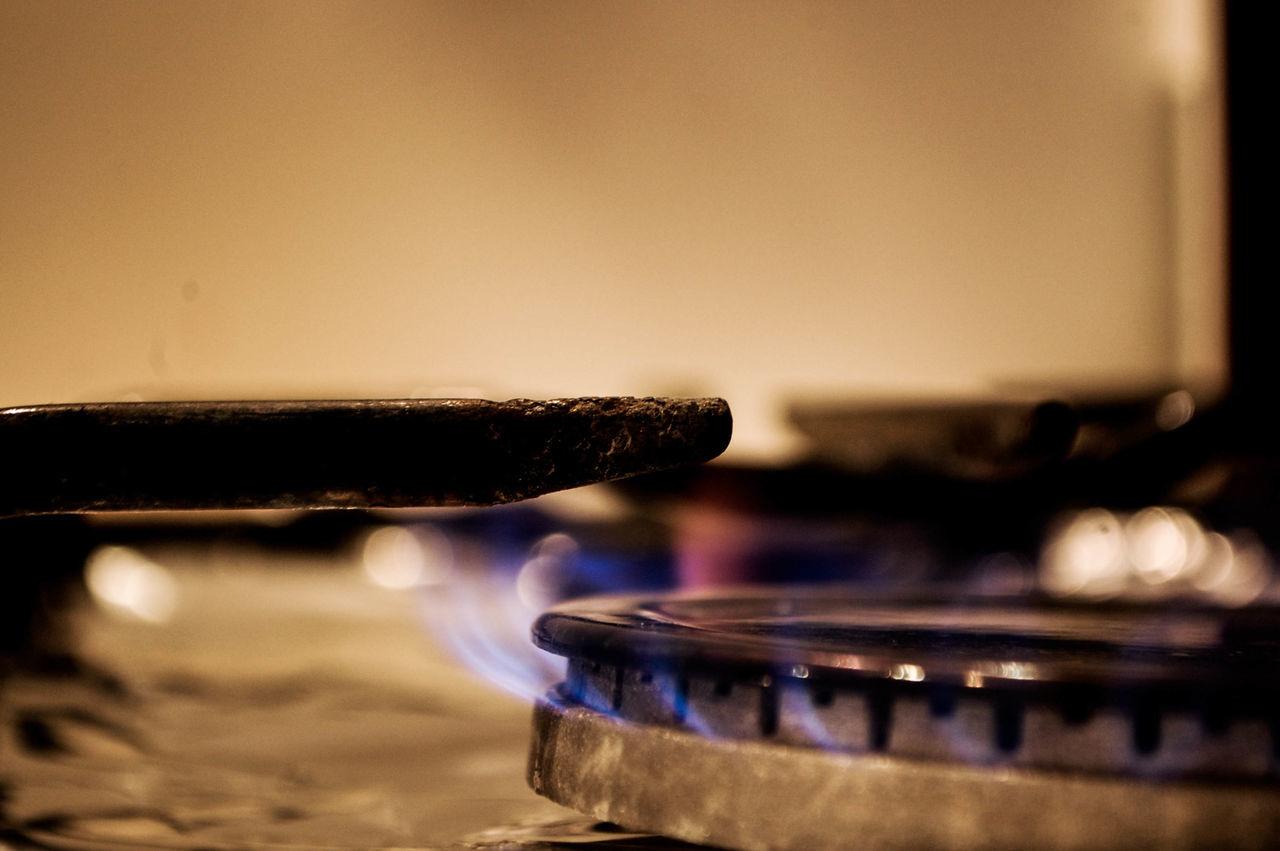 Burning Close-up Flame Heat - Temperature Indoors  No People