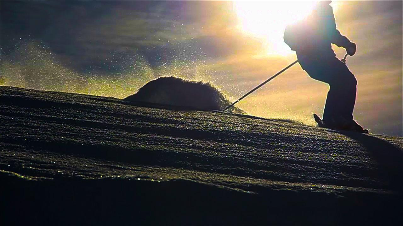 Adrenaline Junkie Ski Skis Skier Alpineskier Freedom Skiers Silhouette Silhouettes Washington Adventures Adventuretime Coldweather Powderdays Go Skiing Sunset Silhouettes Enjoying Life Skiing Travel Self Portrait Powder Turn in Chelan, WA Snow Sports