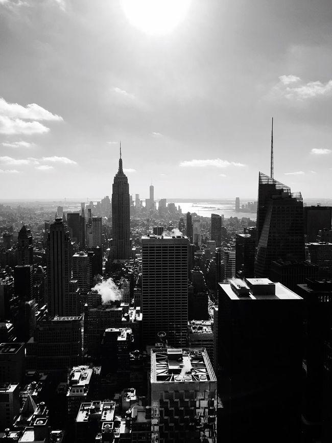 New York Top Of The Rock Skyscraper