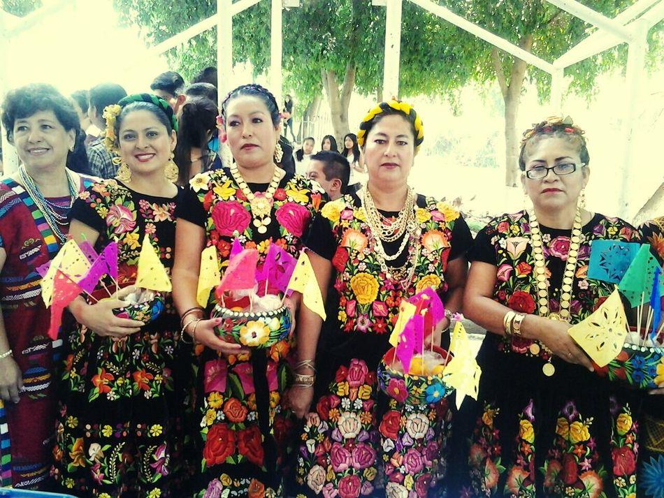 Oaxaca Tehuanas Hermosas por que mexico es lindo!!!