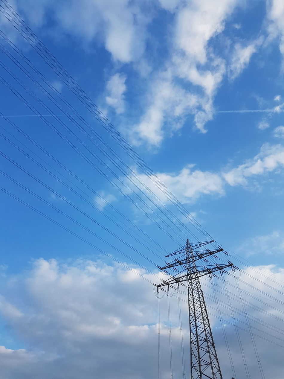 Outdoors Nature Cable Technology Sky Cloud - Sky Electricity  Day No People Strom Electricity Tower Electricity Cables Strommast Electric Tower  GERMANY🇩🇪DEUTSCHERLAND@ Electric Tower  Nature Scenics Electric Tower