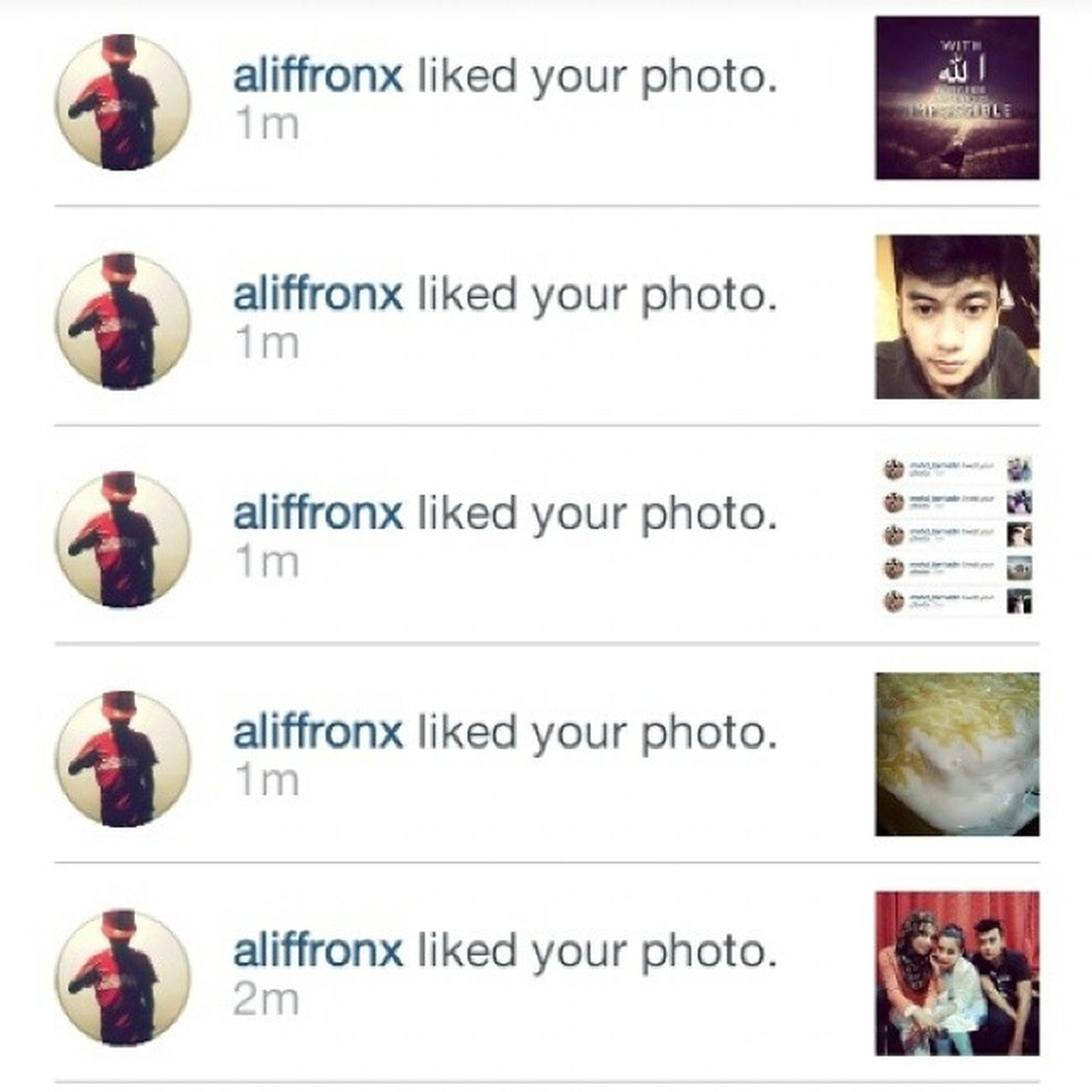 Thank You adik Aliff handsome. Haha :* ARfames @aliffronx AliffKadiron