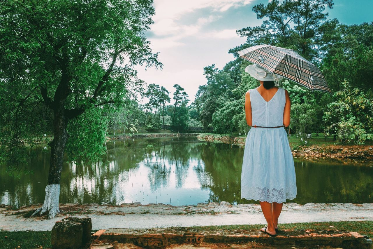 Beautiful stock photos of vietnam, tree, real people, one person, water