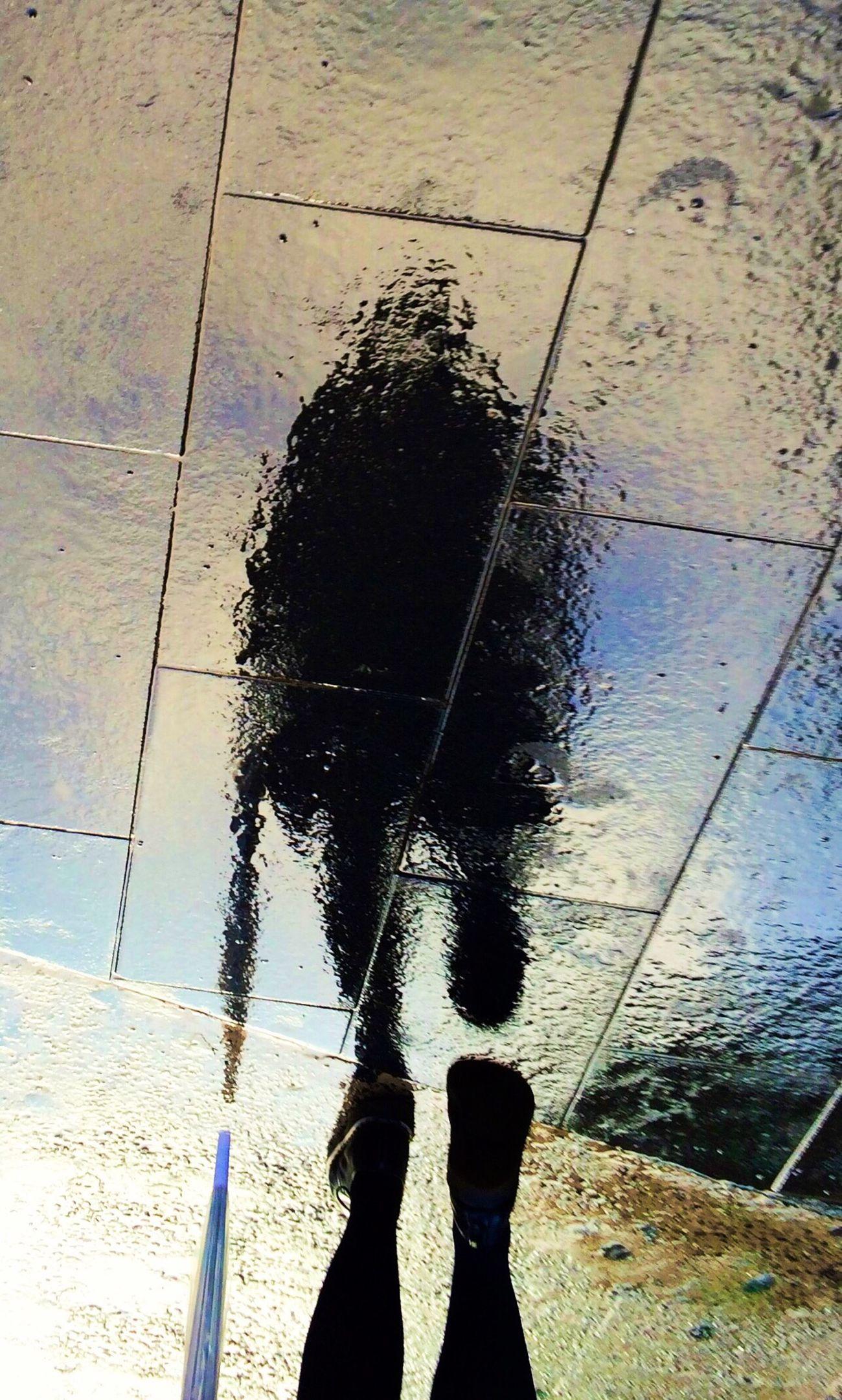Rain Reflection Streetphotography Light And Shadow Upside Down