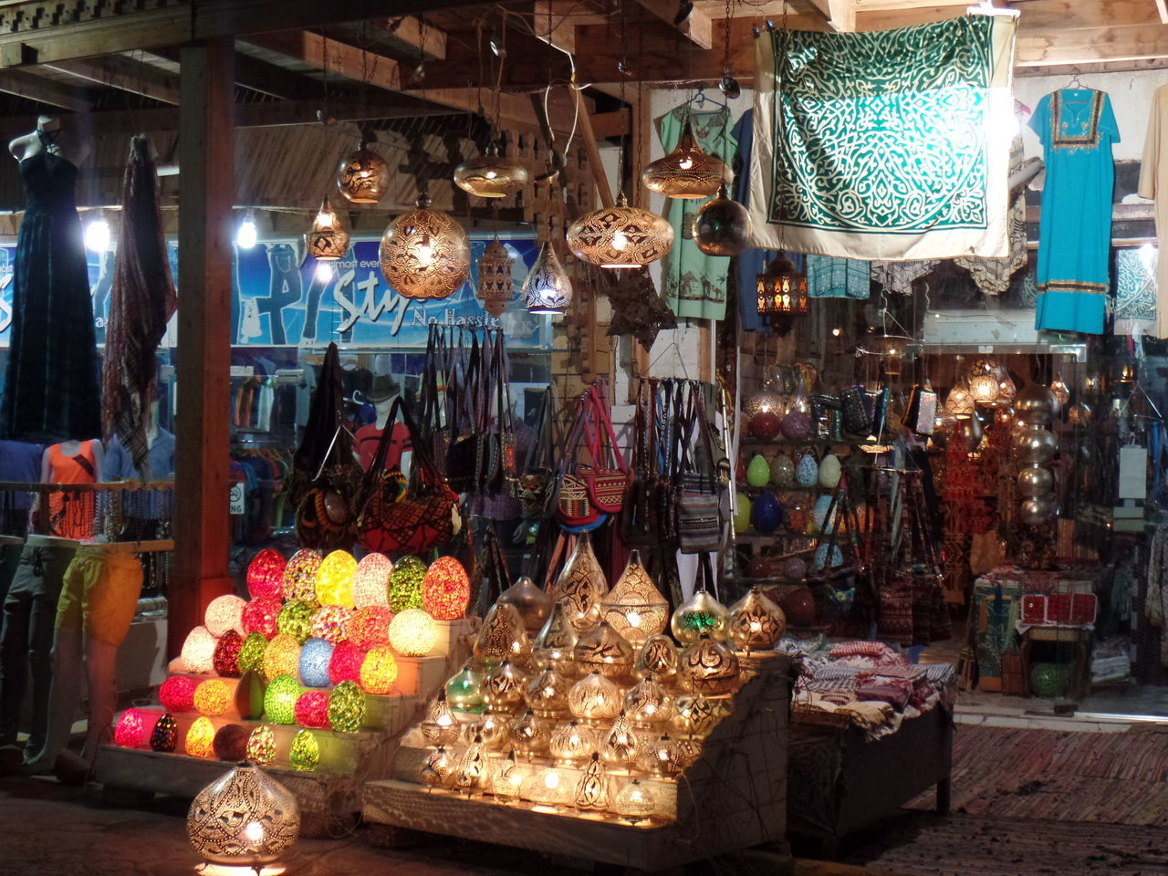 Daha Egypt Magic Lamps Magic Of Old Cit Market Mashrabah Outdoors South Sinai Summer Time