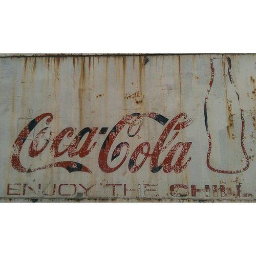Old Coke Conex Box just rusting in the qatari sun. Nocrop Nofilter @nocrop_rc rcnocrop photooftheday