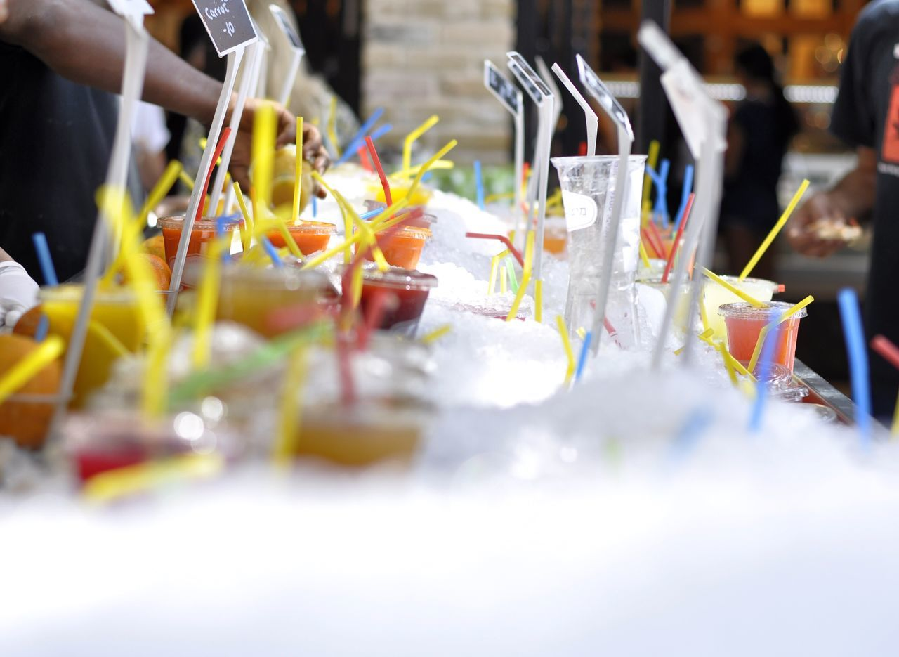 Summer Cold Drink Ice Drink Market Market Reviewers' Top Picks Tel Aviv Sarona Market The Essence Of Summer