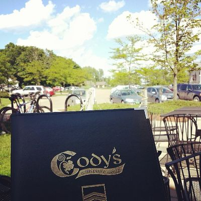 Lovely afternoon to eat outside. Codys  Jackncoke Ignewengland Igvermont essex