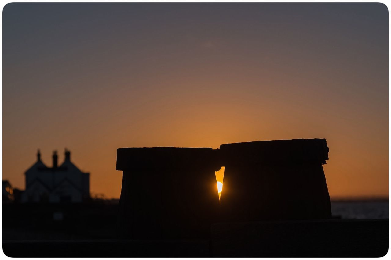 Architecture Built Structure Growth Kissing Photography Silhouette Sky Sunset Sunset_collection Whitstable