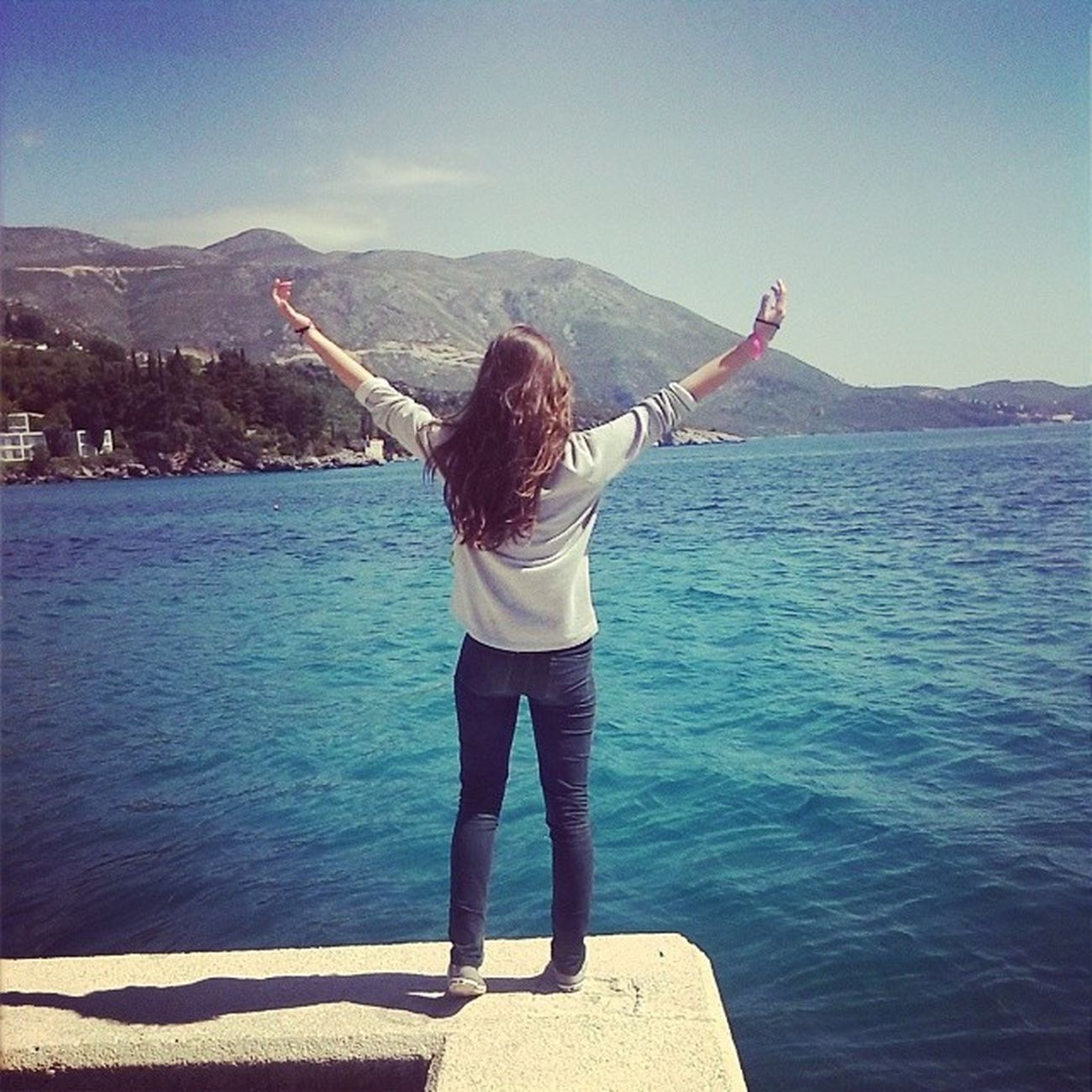 Dubrovnik ! More Uzivancija SHKM shkmdubrovnik na slobodu pozvani požega Mlini hands wide open Jesus is awesome