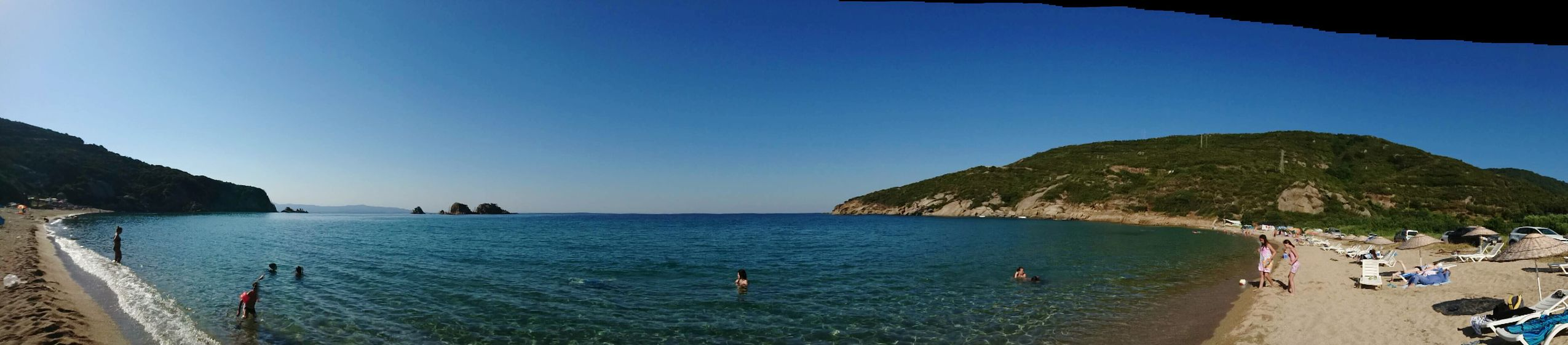 Panoramic Photography Phone Photography Beach Life Clear Water Cleanbeaches Turkey Beautiful Nature
