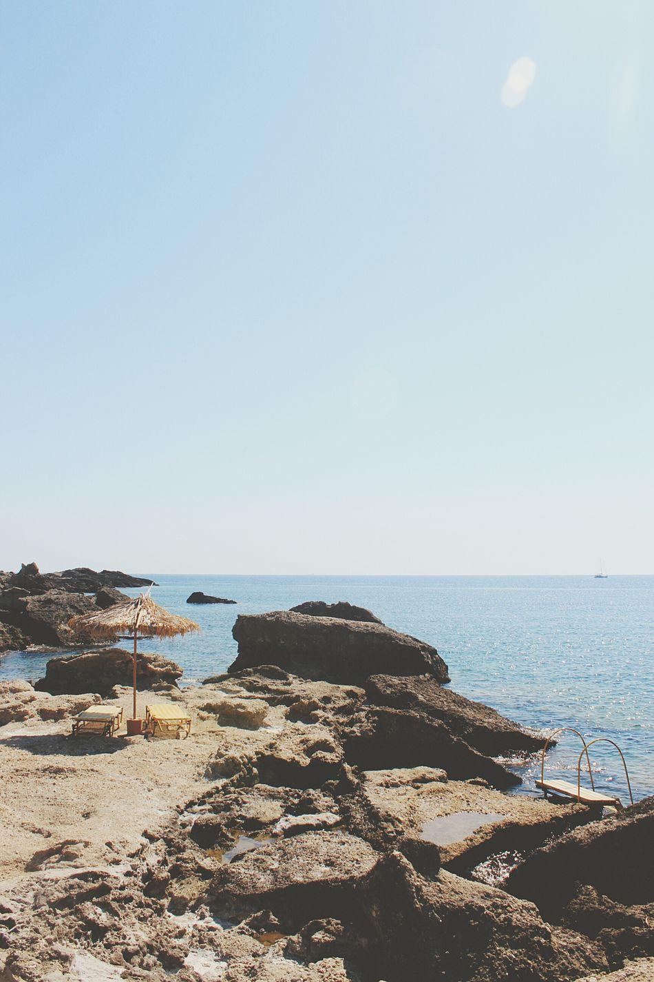Rocky beach, Rhodes Greece Rhodes Rhodos Griekenland Greece Beach Stonebeach Water Blue Ocean Chillspot Diving Snorkeling Fish Vis Nature