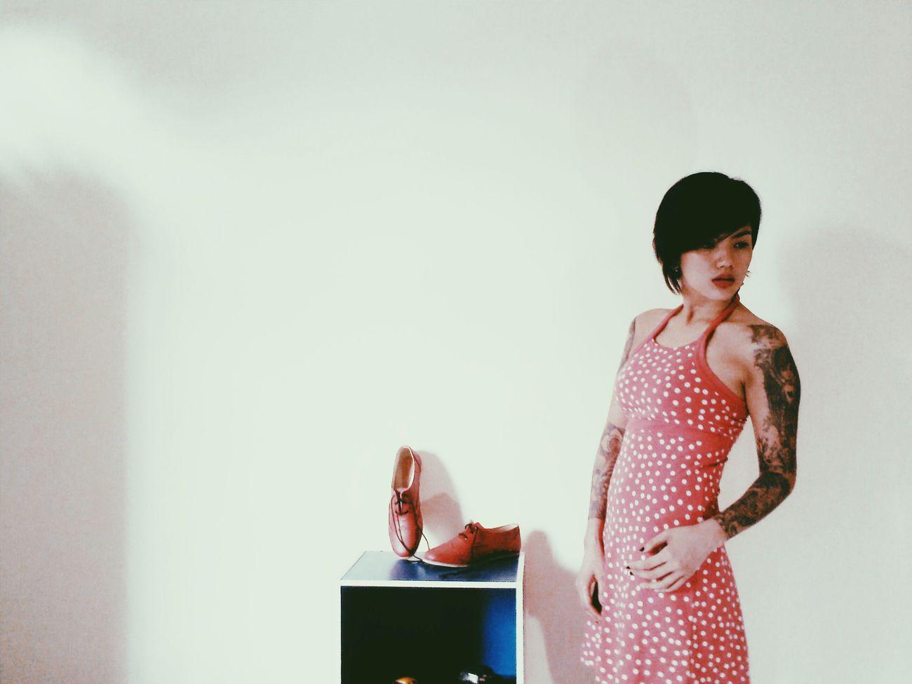 Portrait Of A Friend Streetfashion Vintage Tattoo