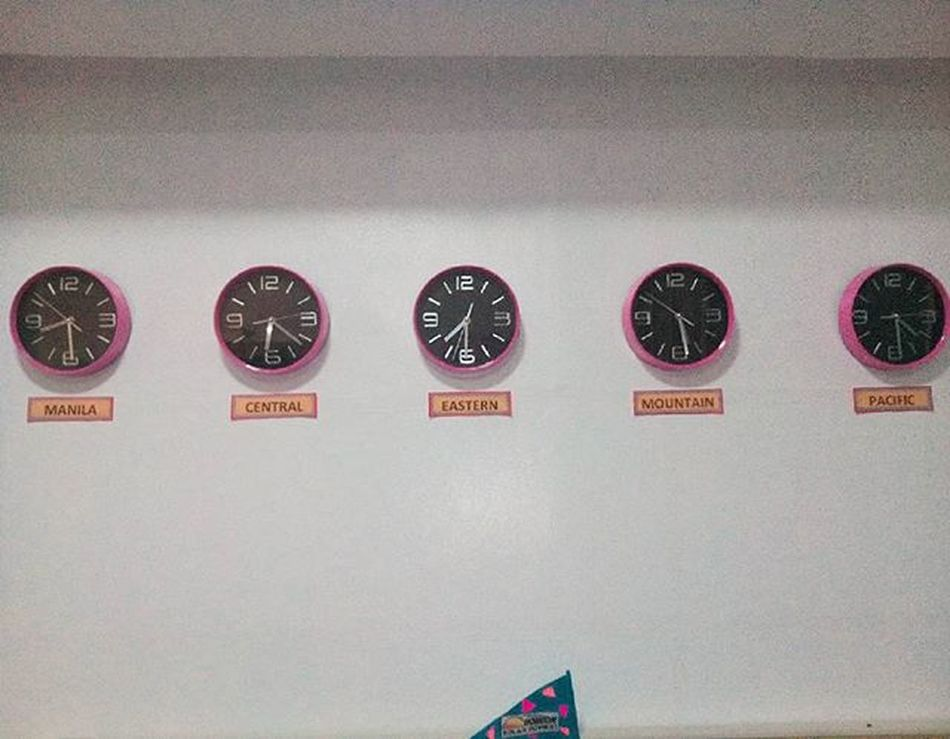 Timezones are'nt the same People are'nt the same But all of us has our own uniqueness and be proud of it Timezone Pinkclock Worldwide Startofsomethingnew