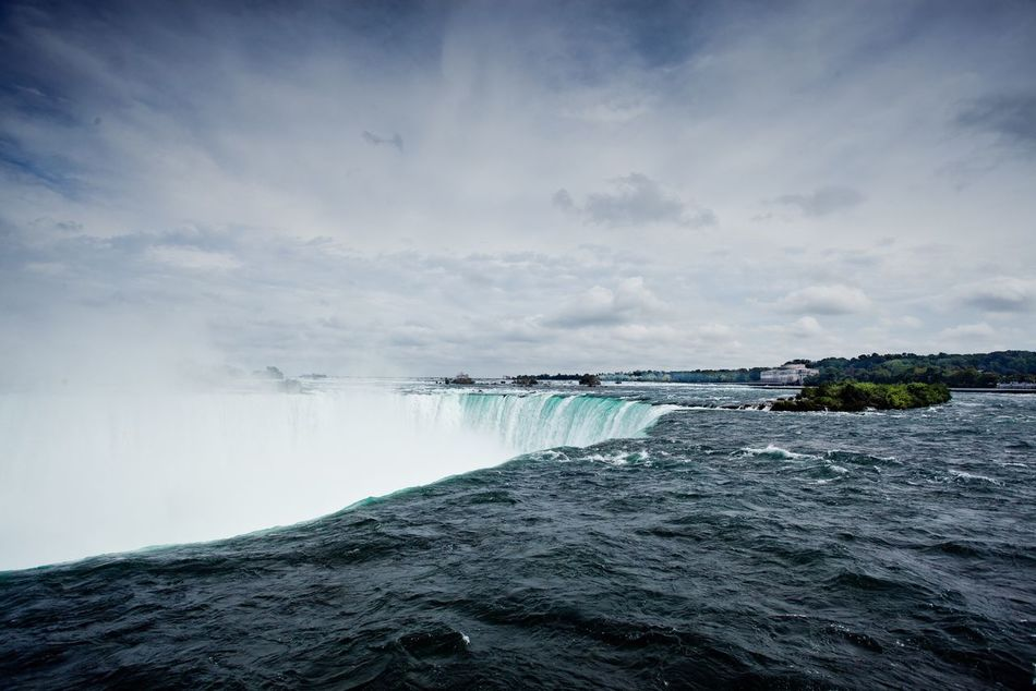 Beautiful stock photos of waterfall, Beauty In Nature, Canada, Cliff, Cloud