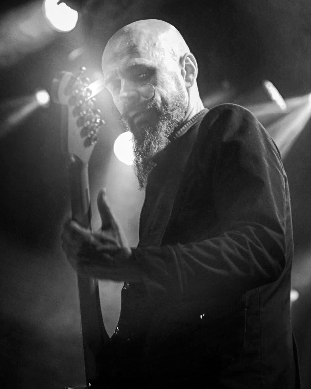 MIKA VANDBORG on guitar The Photojournalist - 2017 EyeEm Awards EyeEm Best Shots Concert Photography Musician Denmark Beard Music Bnw Guitar Guitarist Pictureoftheday Blackandwhite Aarhus, Denmark Funky Rocknroll Live Music