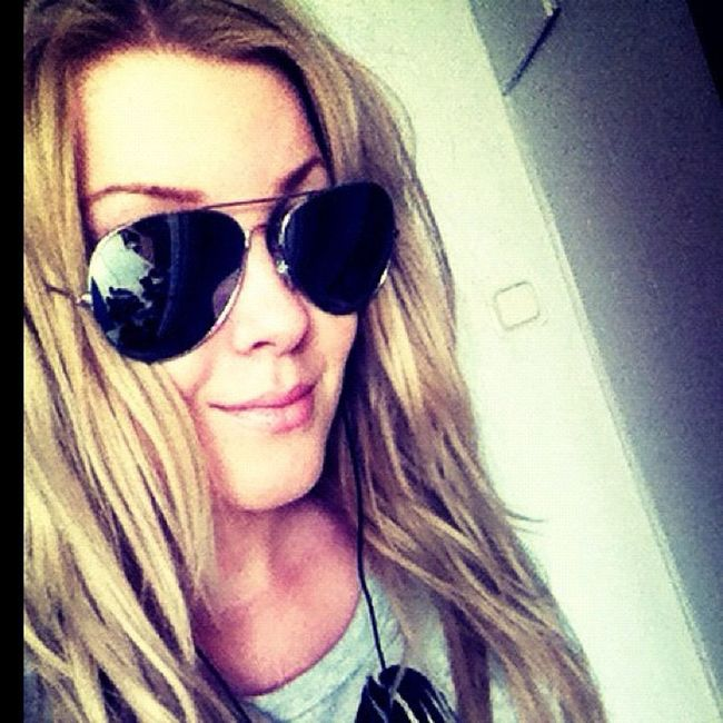 Today's My. Beachhair Beachcurls Hair Pilotglasses glasses selca swedishgirl