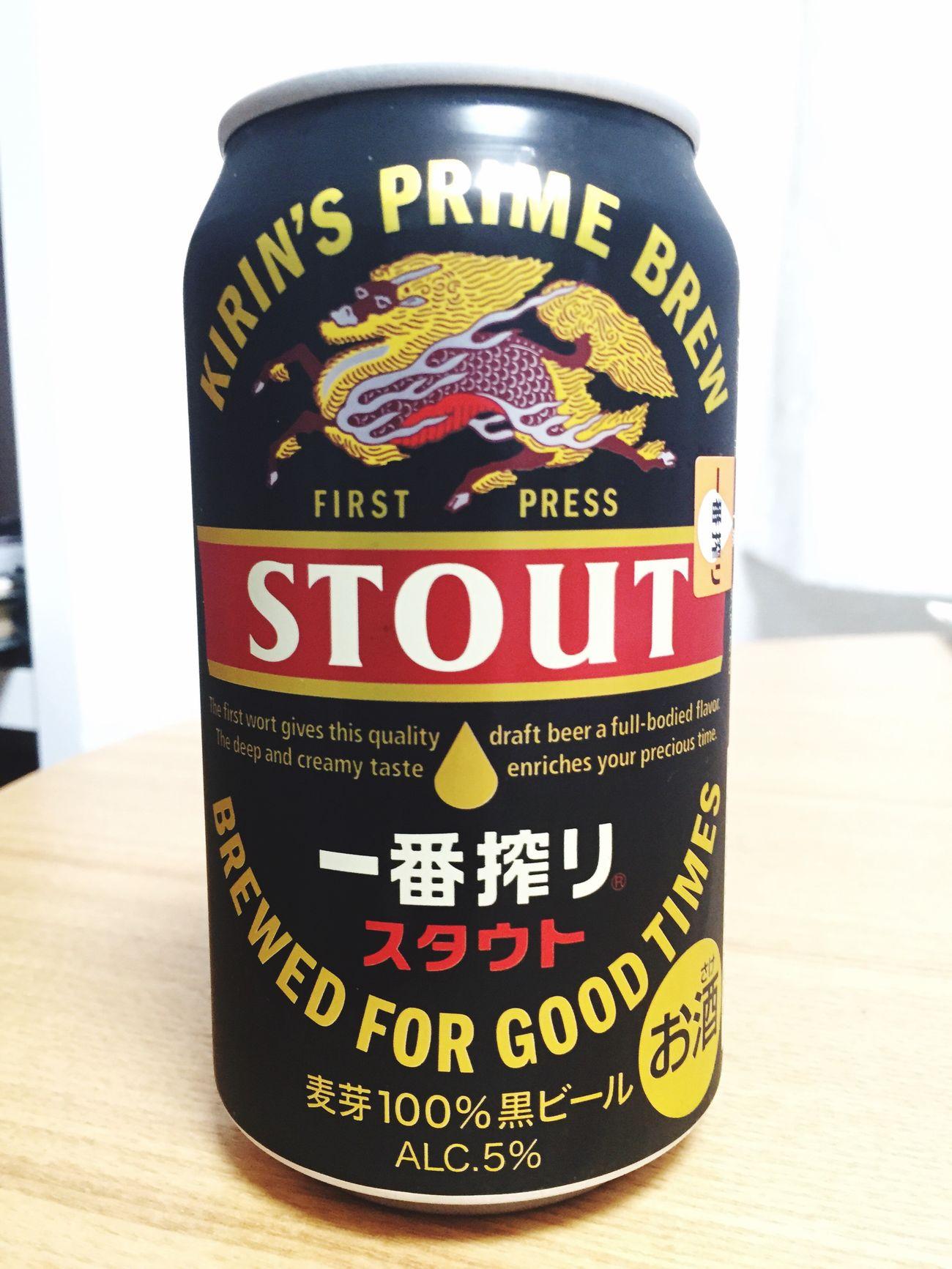 一番搾りSTOUT頂き( ^ ^ )/□ こっちの方が好きかな Beer 麦酒 Alcohol