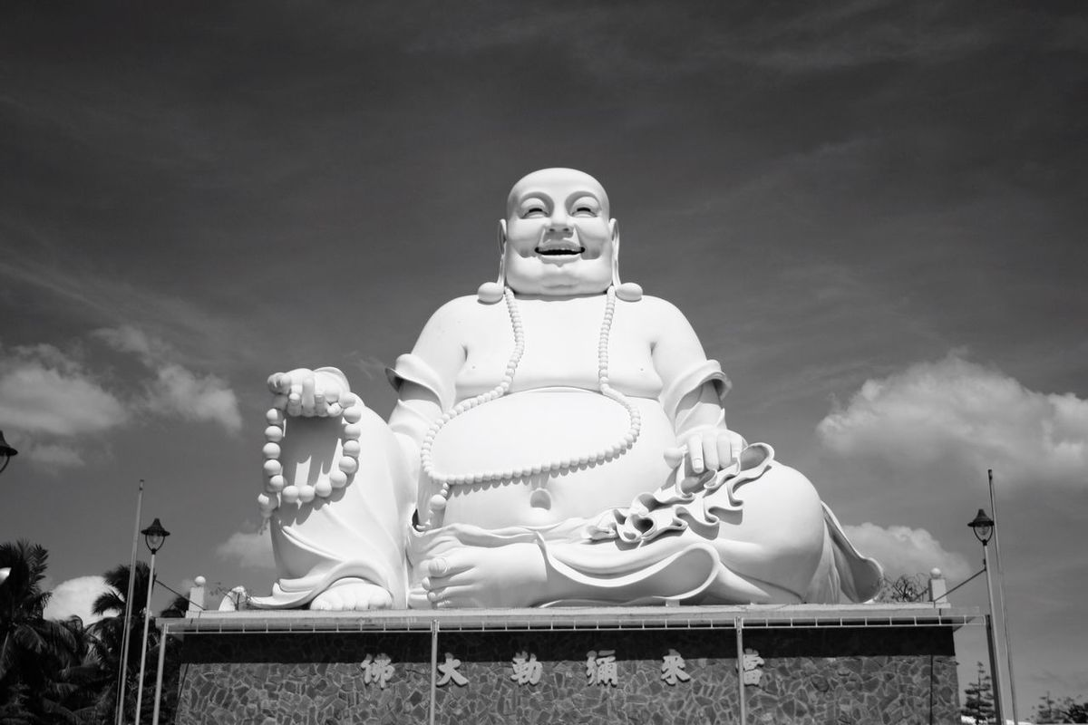 Siddharta Gautama Statue Sky Blue Sky Hello World Enjoying Life