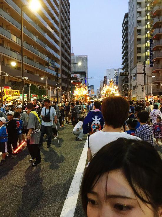 おばあちゃん家行ってきた^ - ^ 祭り 八王子 Followme Japan Follow