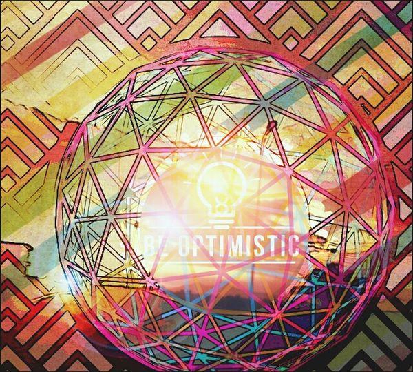 Be Optimistic Digital Art Photo Editor