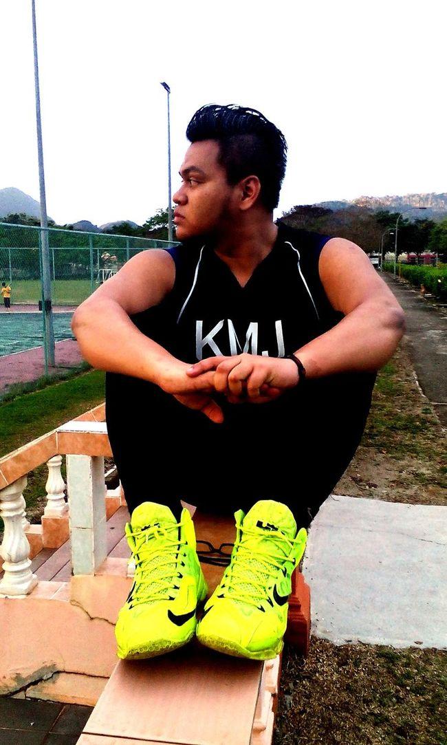 Playing Basketball Kmj Malaysia Tangkak