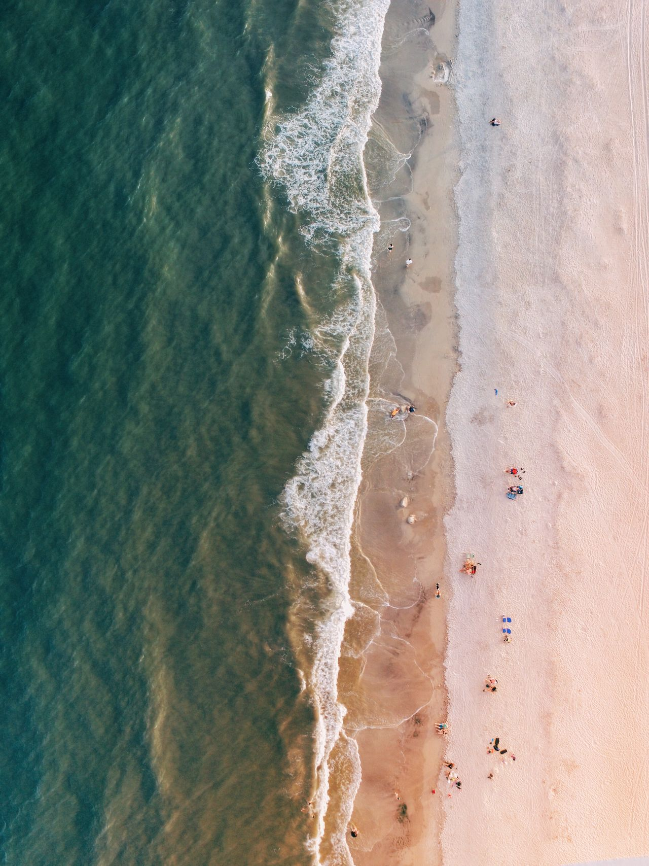 Aerial View Drone  Dronephotography Beach Sea Water Shore Surf High Angle View Sand Nature Wave Scenics Beauty In Nature Coastline Outdoors Summer Day Tranquility Vacations Tranquil Scene Ocean No People A Bird's Eye View