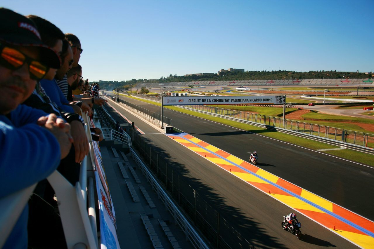 We are lucky to live close by the Circuit of Ricardo Tormo (Cheste, Valencia, Spain) where the last race of the season takes place. Circuit Ricardo Tormo MotoGP Competition Competitive Sport Motogp Motorsport Spectator Sport Sports Race Sports Track Track And Field Event