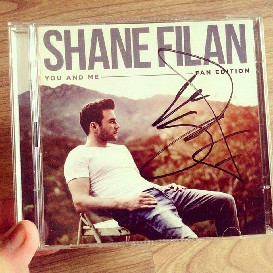 😘😘😘 ShaneFilan Youandme Album SignedCD Music InBeijing