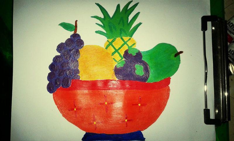 Art Fruity Being Creative