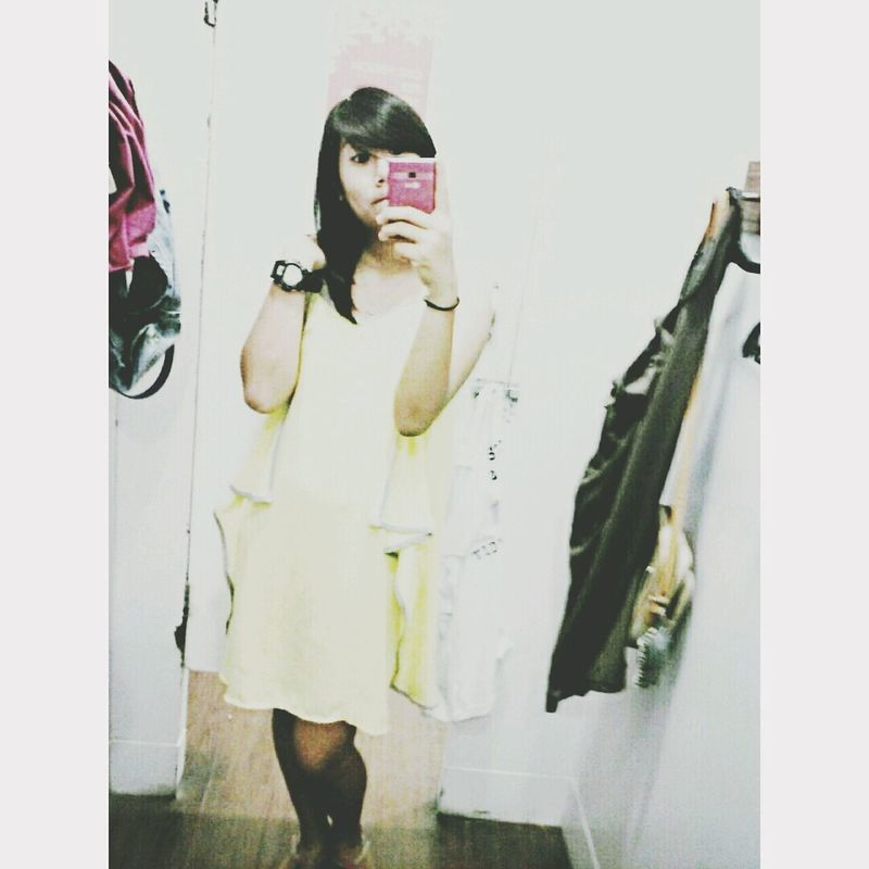 Yellow Dress for today baby ;)