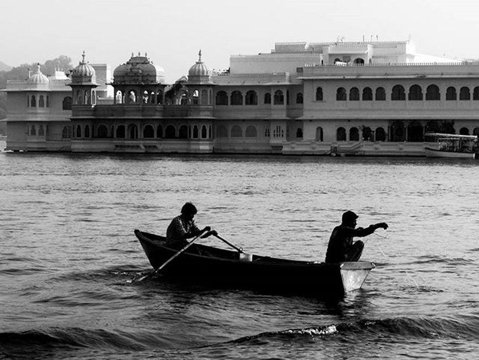 Catch. Udaipur Udaipurblog Lakepalace Lakepalaceudaipur _soi _oye Indiapictures Bnw_life Fishing Desi_diaries Sony Daylight Storiesofindia Indiaclicks _indiasb