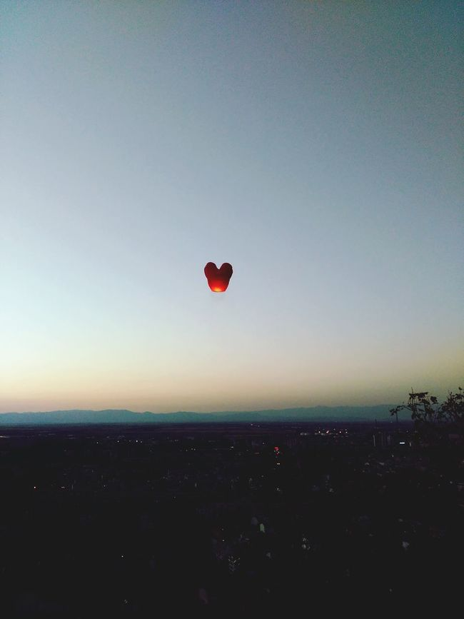 Chinese Lantern Up In The Sky Showcase August Promise Love Lanterns In The Sky Lanternfloating Fresh On Eyeem  No People Almost Autumn The Essence Of Summer Beautyineverything Summer Memories 🌄 Make A Wish Make Magic Happen Wishing.. Outdoors Overnight Success