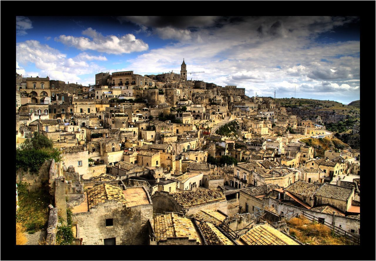 Matera, Italy Sassi Di Matera Architecture Building Exterior Built Structure Sky Travel Destinations History Outdoors No People City Day Cityscape