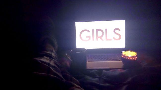 28.04.16 Girls Wathing Withtea Candle Panduf Pijamas Good Times Girlpower Lovelynight Huzur Peaceful