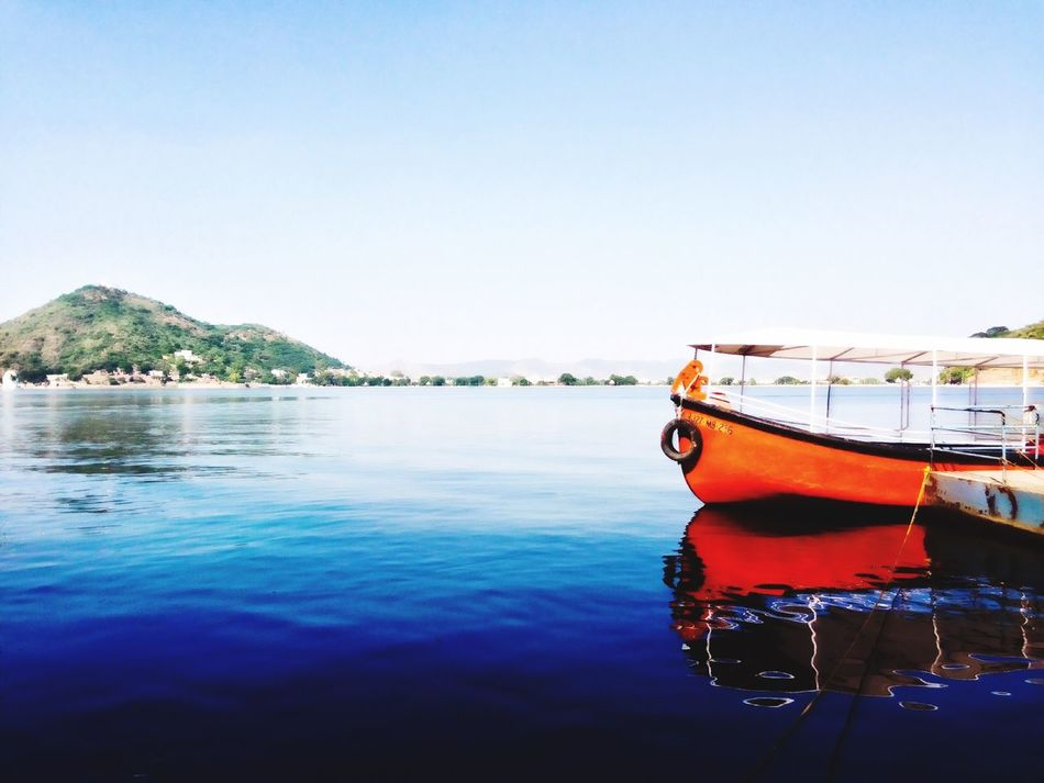 Outdoors Water Beauty In Nature Scenics Sea Lake View Fatehsagar