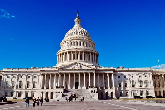 US Capitol Building Washington, D. C. Congress Landmark