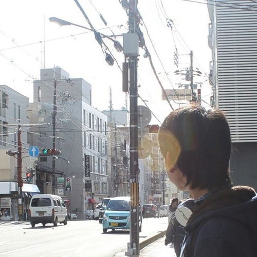 OpenEdit Sunny Day Traffic Japan My Unique Style Sol Republic Hoodie Casual Plain & Simple Open Edit