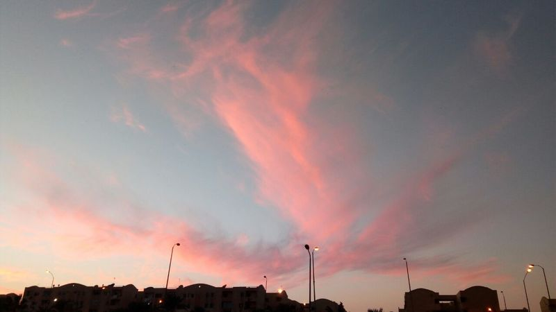 Sky Sunset Vintage Photo Phoyography Outdoors Cotoncandy Pink Sky Cloud - Sky Natural Beauty