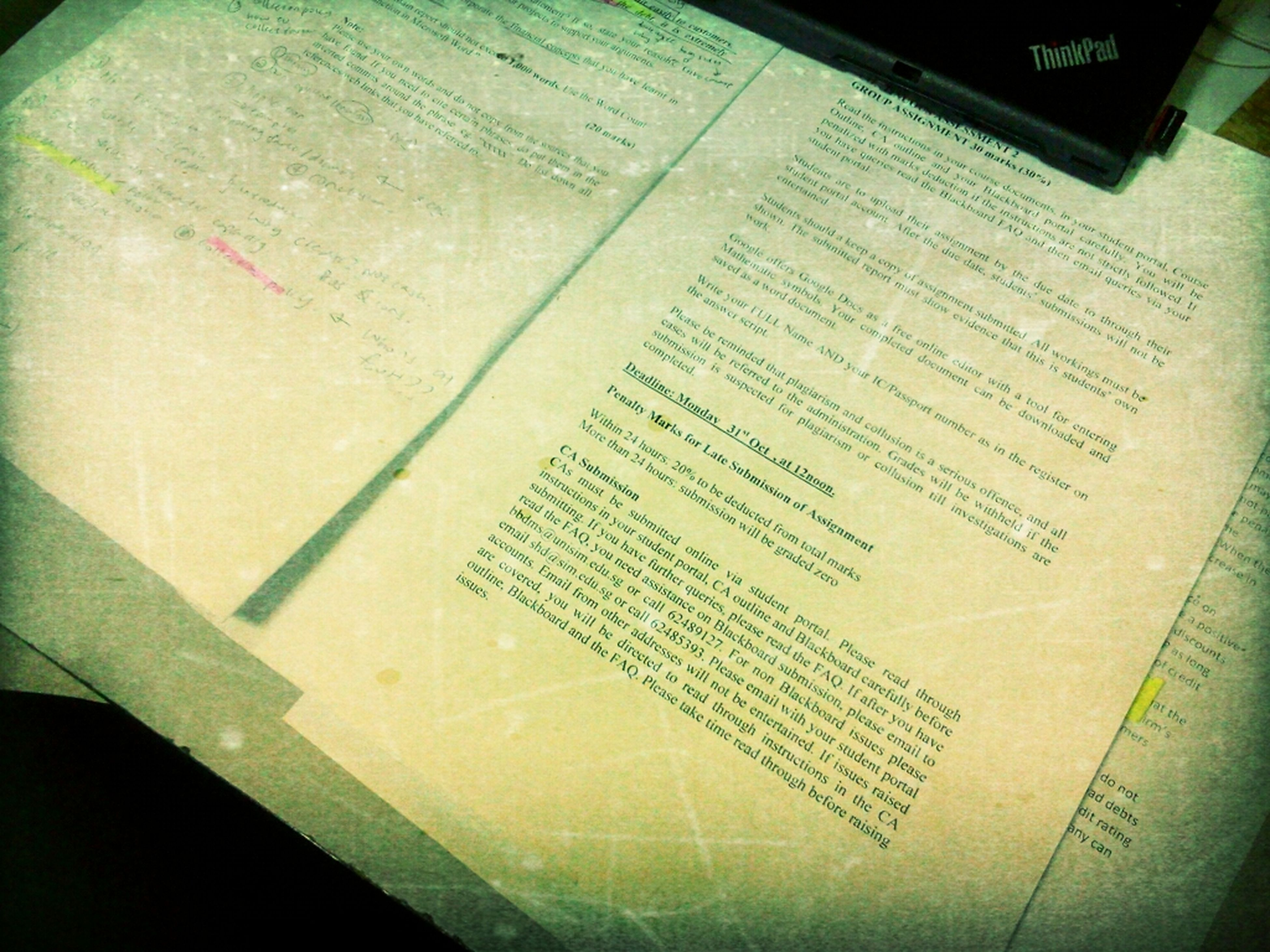 text, indoors, communication, western script, paper, close-up, book, education, high angle view, still life, table, handwriting, no people, information, message, non-western script, page, number, part of, auto post production filter