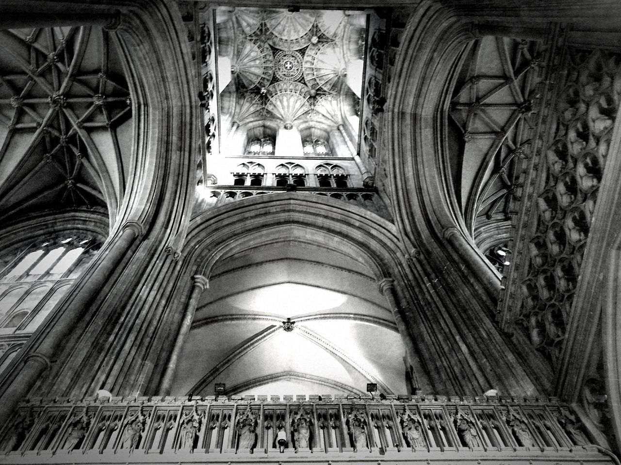 architecture, built structure, place of worship, religion, spirituality, low angle view, indoors, ceiling, architectural column, history, no people, travel destinations, day