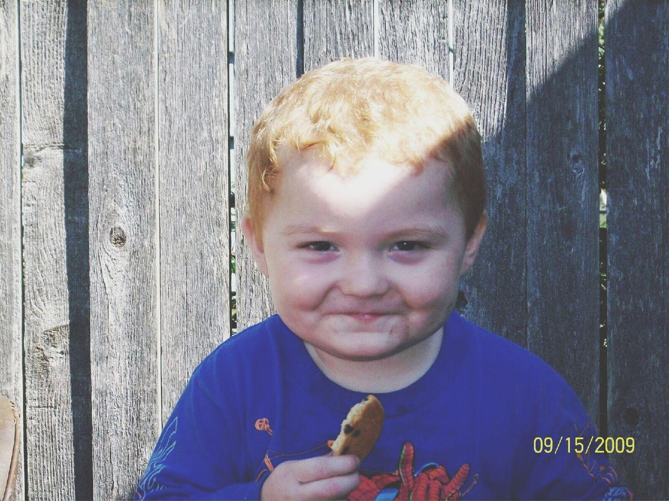My nephashea was so cute when he was little