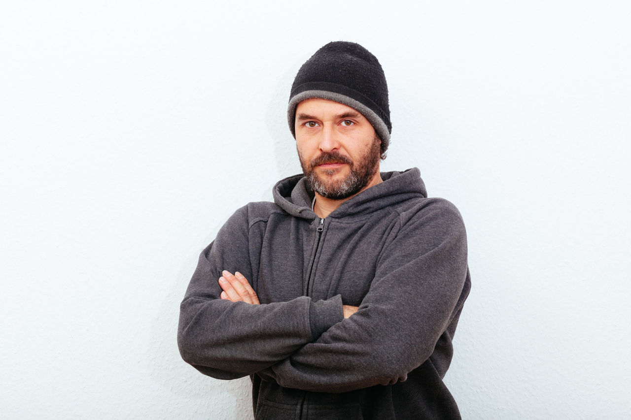 Beautiful stock photos of white background, 40-44 Years, Arms Crossed, Beard, Berlin