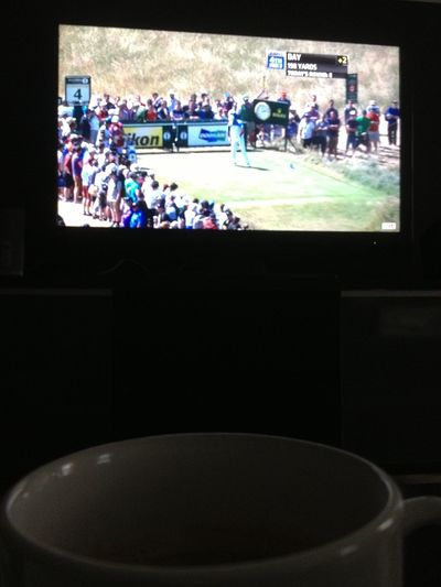 TheOpen And  Coffee This Morning! GoodMorning