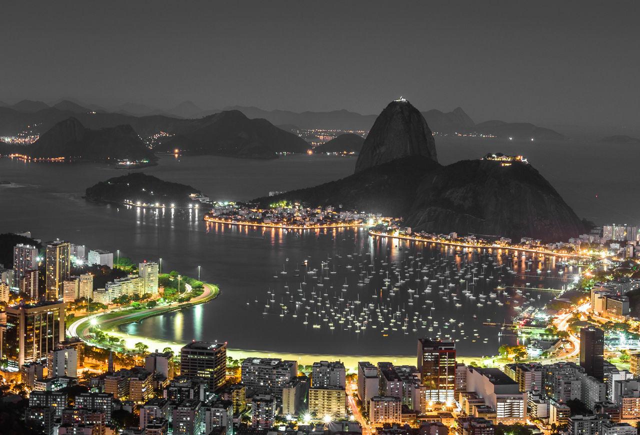 Baía De Guanabara Botafogo Buildings Cityscape Fine Art Photography Lights Night Photography Nightphotography Pão De Açucar Rio De Janeiro Rio De Janeiro, Brazil Sea Showcase July