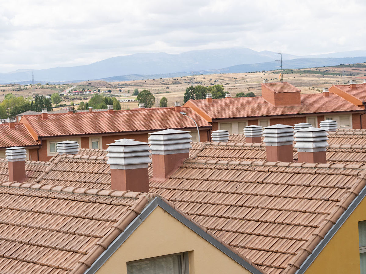 roofs in Astorga, Spain Architecture Astorga Building Exterior Built Structure Roof Roof Tile Rooftop SPAIN