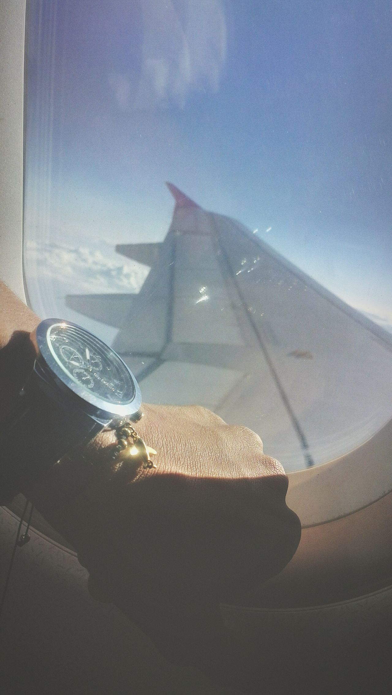 Fly Aviationphotography Aviation Acsessories Reloj Ventana Con Vistas Beautiful Day